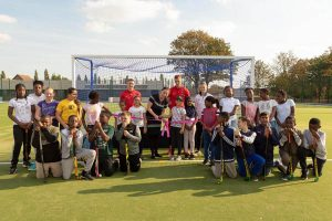 , Olympic & Orient welcome for Feel Good Too sports centre, Zaun
